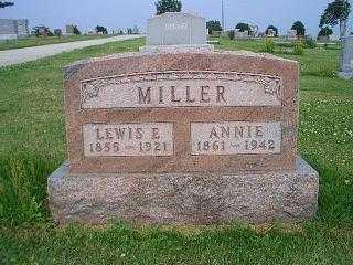 MILLER, ANNIE - Pottawattamie County, Iowa | ANNIE MILLER