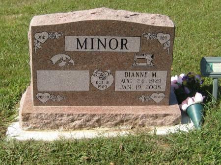 MINOR, DIANNE M. - Pottawattamie County, Iowa   DIANNE M. MINOR