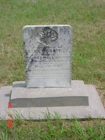 MONSIDEE, ELIZA - Pottawattamie County, Iowa   ELIZA MONSIDEE