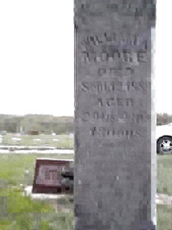 MOORE, WILLIAM A. - Pottawattamie County, Iowa | WILLIAM A. MOORE