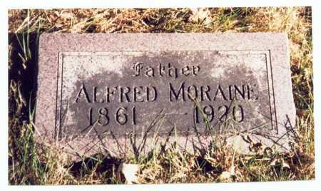 MORAINE, ALFRED - Pottawattamie County, Iowa | ALFRED MORAINE