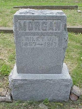 MORGAN, HEADSTONE - Pottawattamie County, Iowa | HEADSTONE MORGAN