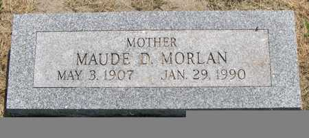 MORLAN, MAUDE D. - Pottawattamie County, Iowa | MAUDE D. MORLAN
