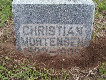 MORTENSEN, CHRISTIAN - Pottawattamie County, Iowa | CHRISTIAN MORTENSEN