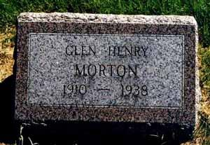 MORTON, GLEN HENRY - Pottawattamie County, Iowa | GLEN HENRY MORTON