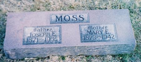 MOSS, MARY E. - Pottawattamie County, Iowa | MARY E. MOSS