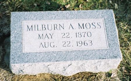 MOSS, MILBURN A. - Pottawattamie County, Iowa | MILBURN A. MOSS