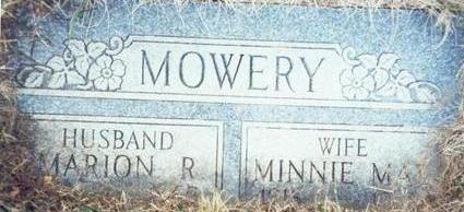 MOWERY, MINNIE MAE - Pottawattamie County, Iowa | MINNIE MAE MOWERY