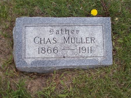 MULLER, CHAS. - Pottawattamie County, Iowa | CHAS. MULLER