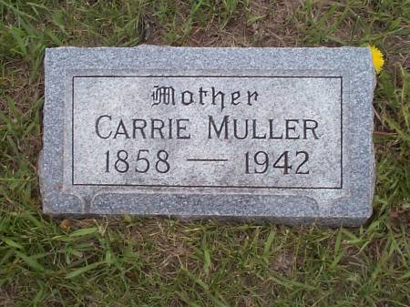 MULLER, CARRIE - Pottawattamie County, Iowa | CARRIE MULLER