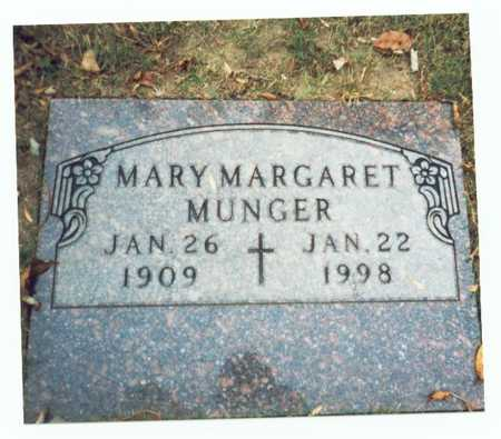 MUNGER, MARY MARGARET - Pottawattamie County, Iowa | MARY MARGARET MUNGER