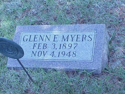 MYERS, GLENN E. - Pottawattamie County, Iowa | GLENN E. MYERS