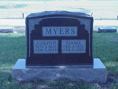 MYERS, JOSEPH & FANNIE - Pottawattamie County, Iowa | JOSEPH & FANNIE MYERS