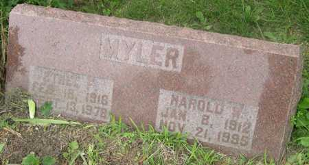 MYLER, ETHEL F. - Pottawattamie County, Iowa | ETHEL F. MYLER