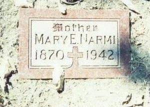 NARMI, MARY E. - Pottawattamie County, Iowa   MARY E. NARMI