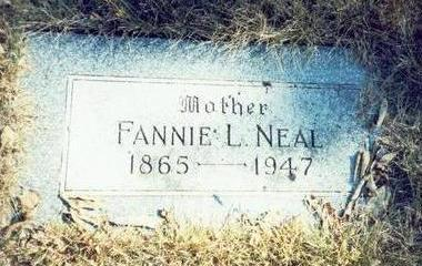 NEAL, FANNIE L. - Pottawattamie County, Iowa | FANNIE L. NEAL