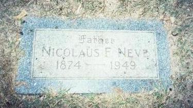NEVE, NICOLAUS FREDERICK - Pottawattamie County, Iowa | NICOLAUS FREDERICK NEVE