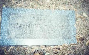 NEVE, RAYMOND E. - Pottawattamie County, Iowa | RAYMOND E. NEVE