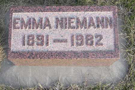 NIEMANN, EMMA - Pottawattamie County, Iowa | EMMA NIEMANN