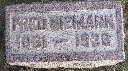 NIEMANN, FRED - Pottawattamie County, Iowa | FRED NIEMANN