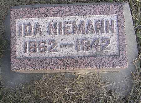 NIEMANN, IDA - Pottawattamie County, Iowa | IDA NIEMANN