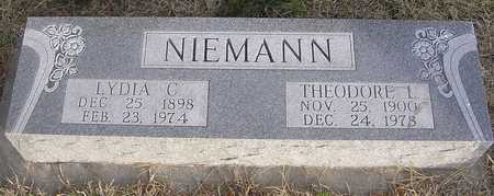 NIEMANN, LYDIA C - Pottawattamie County, Iowa | LYDIA C NIEMANN