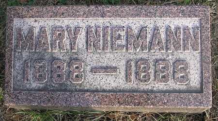 NIEMANN, MARY - Pottawattamie County, Iowa | MARY NIEMANN