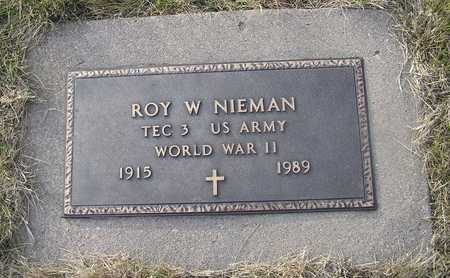 NIEMANN, ROY W - Pottawattamie County, Iowa | ROY W NIEMANN