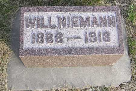 NIEMANN, WILL - Pottawattamie County, Iowa | WILL NIEMANN