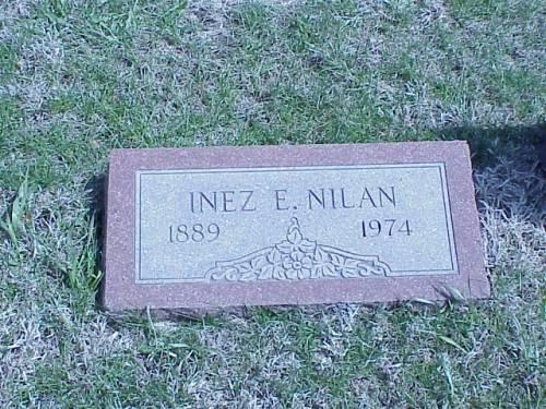 NILAN, INEZ E. - Pottawattamie County, Iowa | INEZ E. NILAN