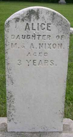 NIXON, ALICE - Pottawattamie County, Iowa | ALICE NIXON