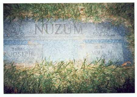 NUZUM, JOSEPH - Pottawattamie County, Iowa | JOSEPH NUZUM