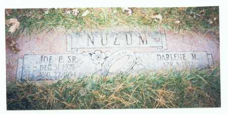 NUZUM, JOE E. SR. - Pottawattamie County, Iowa | JOE E. SR. NUZUM