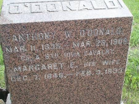 O'DONALD, MARGARET E. - Pottawattamie County, Iowa | MARGARET E. O'DONALD