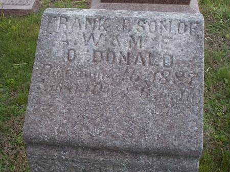 O'DONALD, FRANK J. - Pottawattamie County, Iowa | FRANK J. O'DONALD