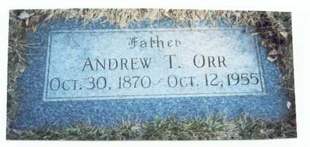 ORR, ANDREW T. - Pottawattamie County, Iowa | ANDREW T. ORR