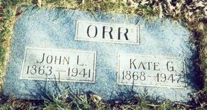ORR, JOHN L - Pottawattamie County, Iowa | JOHN L ORR