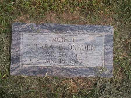 OSBORN, CLARA B. - Pottawattamie County, Iowa | CLARA B. OSBORN