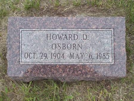 OSBORN, HOWARD D. - Pottawattamie County, Iowa | HOWARD D. OSBORN