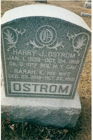 OSTROM, HARRY J - Pottawattamie County, Iowa | HARRY J OSTROM