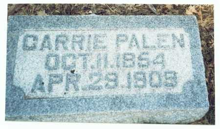PALEN, CARRIE - Pottawattamie County, Iowa | CARRIE PALEN