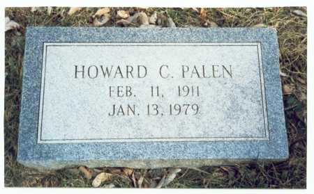 PALEN, HOWARD C. - Pottawattamie County, Iowa | HOWARD C. PALEN