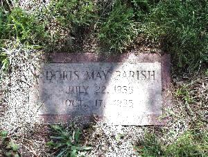PARISH, DORIS MAY - Pottawattamie County, Iowa | DORIS MAY PARISH