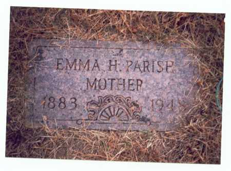 PARISH, EMMA H. - Pottawattamie County, Iowa | EMMA H. PARISH