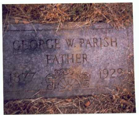 PARISH, GEORGE W. - Pottawattamie County, Iowa | GEORGE W. PARISH