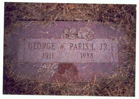 PARISH, GEORGE W. JR. - Pottawattamie County, Iowa | GEORGE W. JR. PARISH