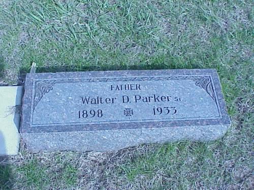 PARKER, WALTER D. - Pottawattamie County, Iowa | WALTER D. PARKER