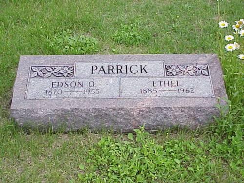 PARRICK, EDISON O. & ETHEL - Pottawattamie County, Iowa | EDISON O. & ETHEL PARRICK