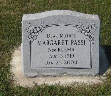 PASSI, MARGARET - Pottawattamie County, Iowa | MARGARET PASSI