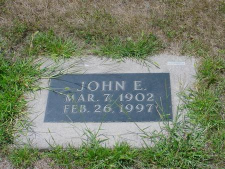 PATRICK, JOHN E - Pottawattamie County, Iowa | JOHN E PATRICK